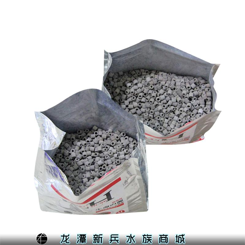 生命の源 LIVE HOUSE龙鱼专用高级过滤材料微酸性 磁环 滤材