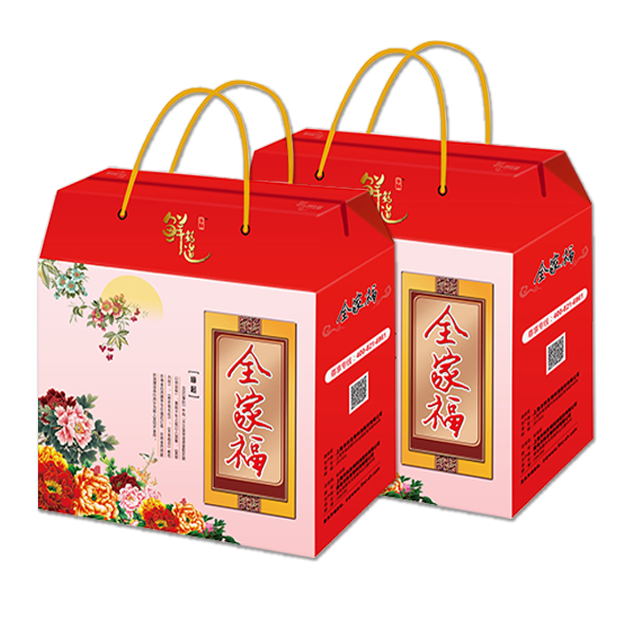 丰科 全家福礼盒白玉菇蟹味菇灰树花鹿茸菇菌菇节日礼品