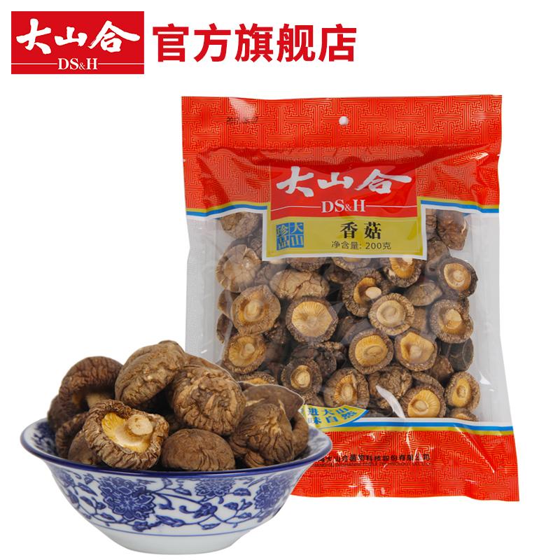 大山合香菇200g包装