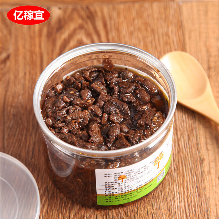 厂家直销调味品香菇酱400g 香辣下饭酱火锅料贴牌代加工一件代发