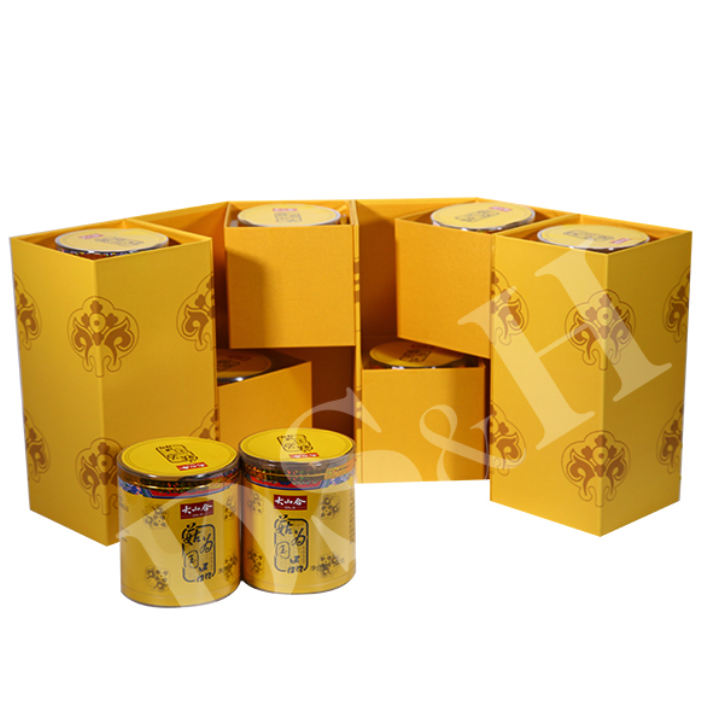 大山新款菇为国品 高档菌菇礼盒 赠友 含红菇 舞茸 虫草等880g珍贵菌菇