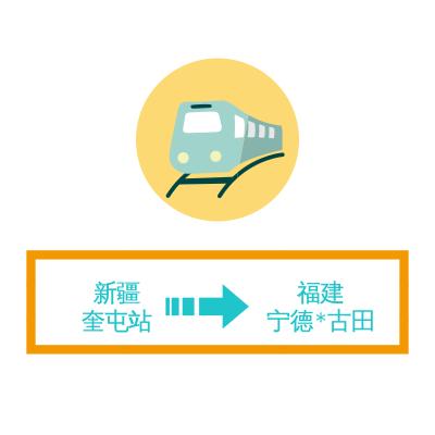 专业铁路货运服务 新疆奎屯直发宁德古田站 可提供PB P65车皮 每吨低至564元